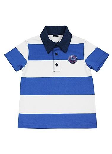 Karamela Tişört Mavi